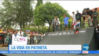Competencia, skateboard, Ciudad de México, jóvenes, patinetas, revolución