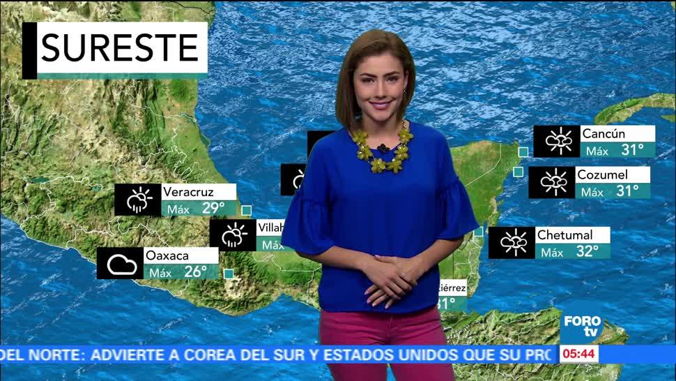 tormentas, territorio nacional, actividad eléctrica, rachas de viento, huracán 'Dora'