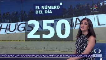 250 familias, separadas, políticas migratorias, frontera, México, Estados Unidos