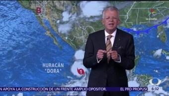 tormenta tropical Dora, huracán, escala Saffir Simpson, Colima, Jalisco