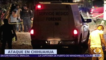 Chihuahua, policías, ataque armado, municipio de Madera, armas