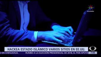 sitios web, Estados Unidos, hackeados, Estado Islámico