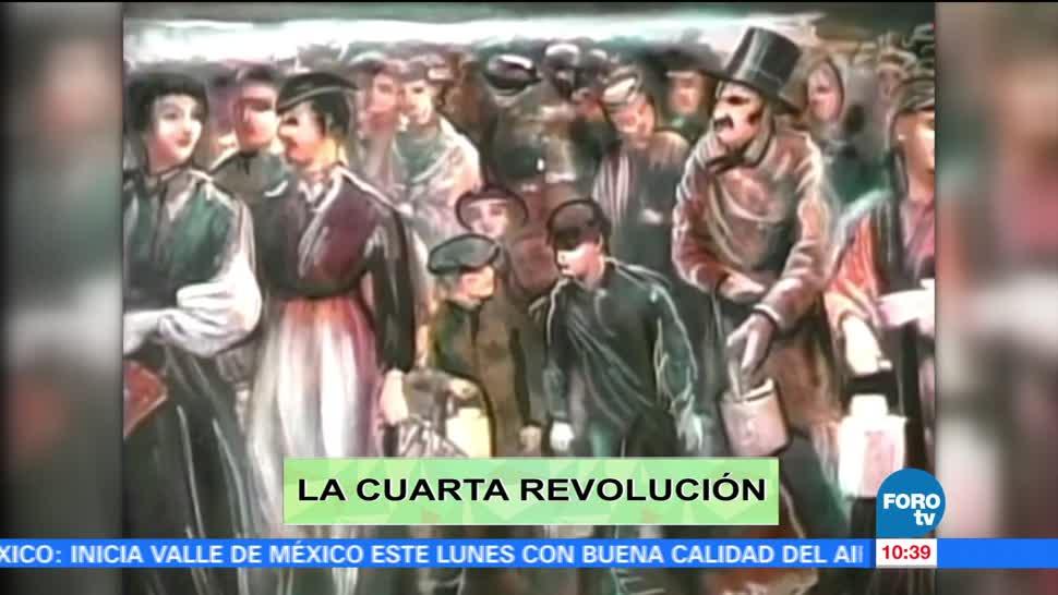maestro, Enrique Vigil, habla, cuarta Revolución