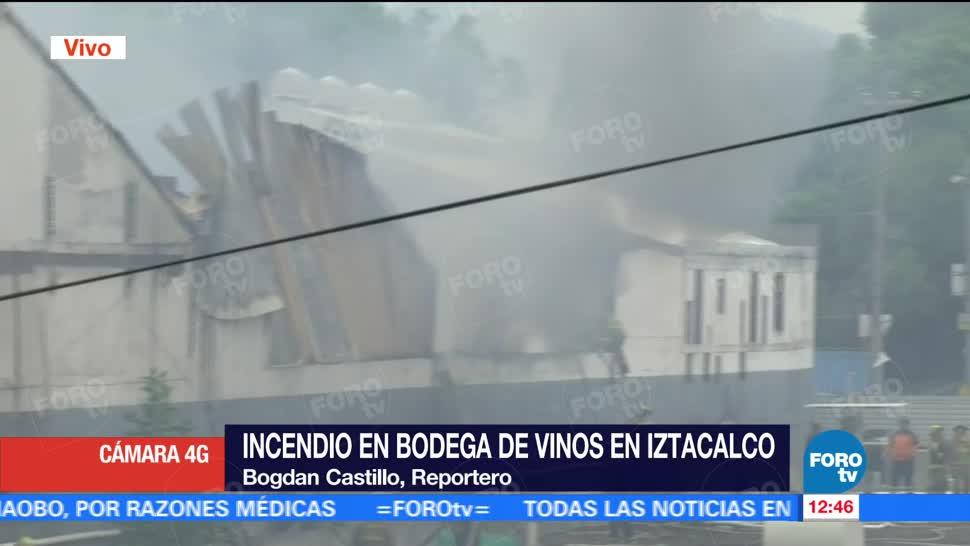 Fausto Lugo, Protección Civil, CDMX, personas lesionadas, bodega, Iztacalco
