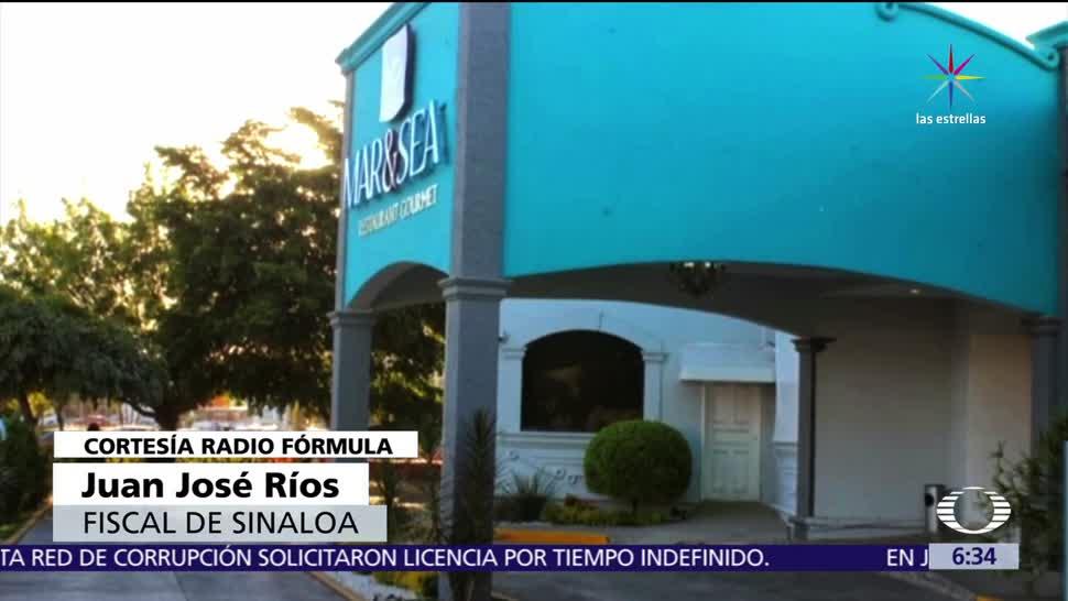 fiscal de Sinaloa, secuestradas, restaurante, rescate