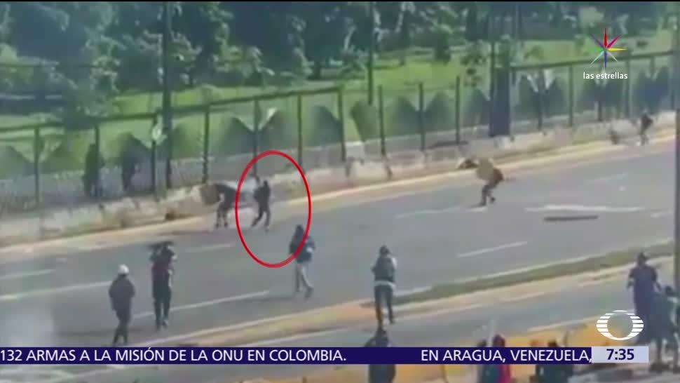 protestas en Venezuela, muere joven, denuncian agresiones, periodistas