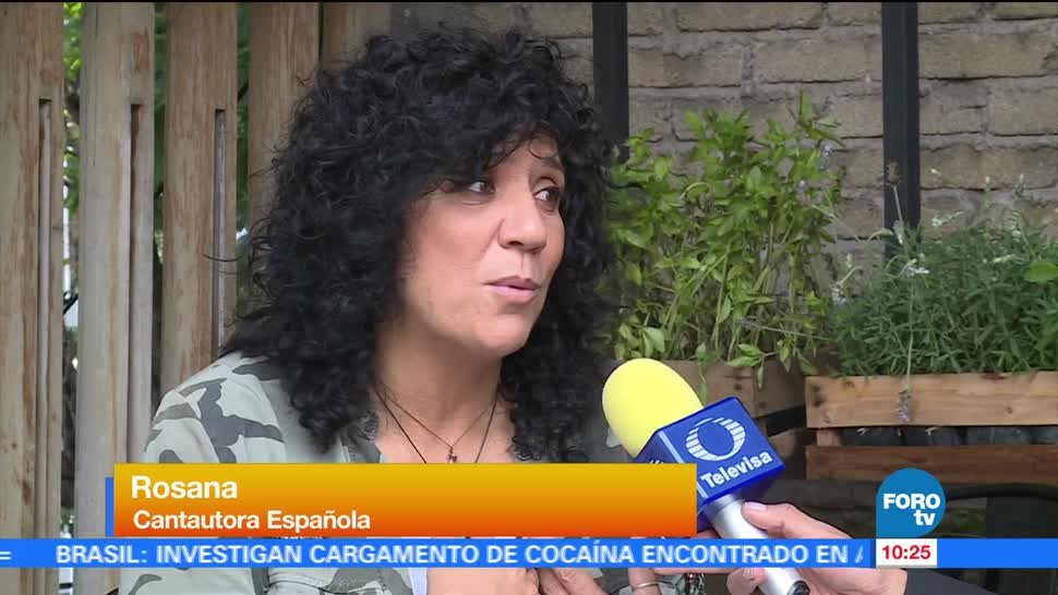 cantautora Rosana, reciente álbum, colonia Condesa, Ciudad de México