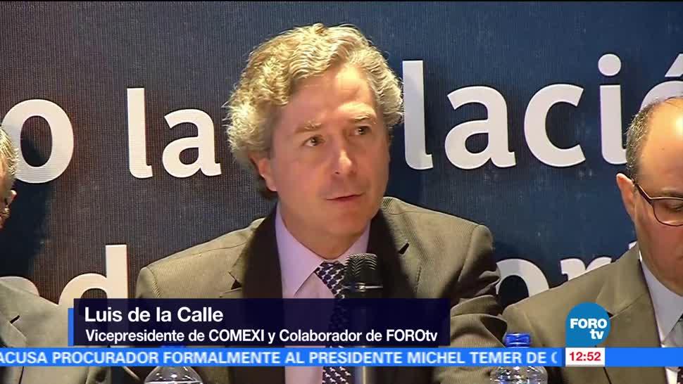 negociación del TLC, México, Luis de la Calle, Comexi