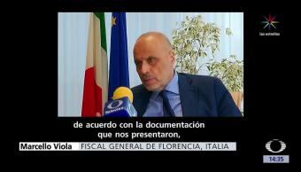 Fiscal italiano, extradición, Tomás Yarrington, Marcello Viola