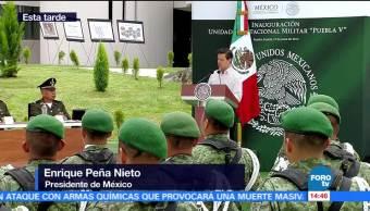 Enrique Peña Nieto EPN, inaugura, unidad habitacional, Puebla