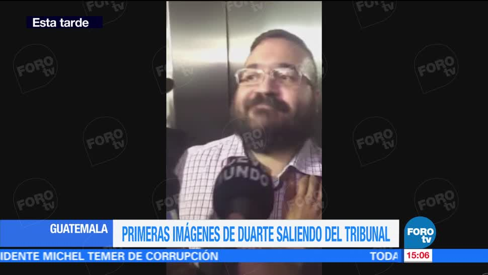 Falta de respeto, Guatemala, perder el tiempo, Javier Duarte