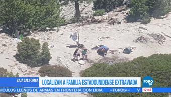 Localizan, turistas, extraviados, Baja California