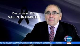 Muere, pionero de las telenovelas, Valentín Pimstein