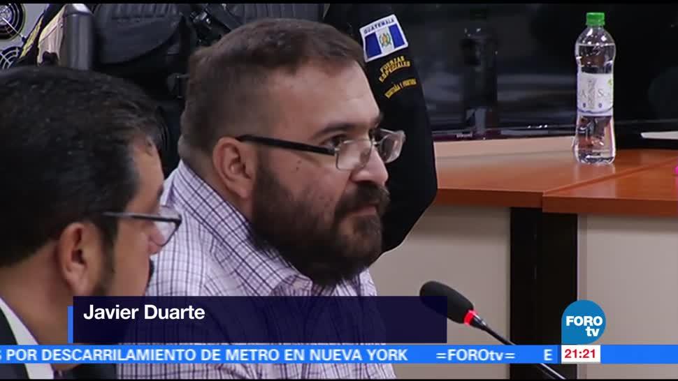 noticias, forotv, Duarte, acepta ser extraditado, México, Javier Duarte