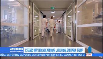 noticias, forotv, Trump, asegura, cerca, Reforma de Salud