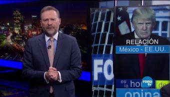 noticias, forotv, Relación, México-Estados Unidos, Consejo Mexicano de Asuntos Internacionales, Donald Trump
