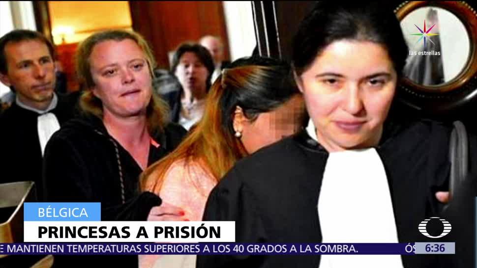 Bélgica, detiene a 7, princesas de EAU, maltrato contra de mujeres
