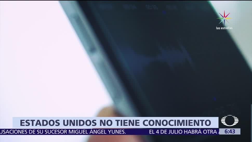 Embajada de EU, desconoce pedido, FBI investigue espionaje, México
