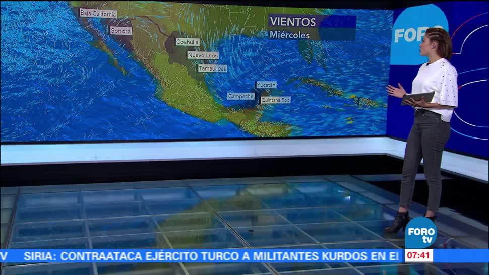El clima, Daniela Álvarez, Tormenta tropical Dora, costas mexicanas