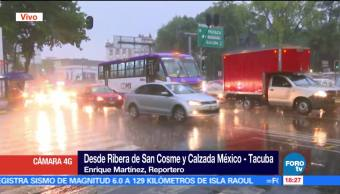 miércoles, lluvia intensa, diversos puntos, Ciudad de México