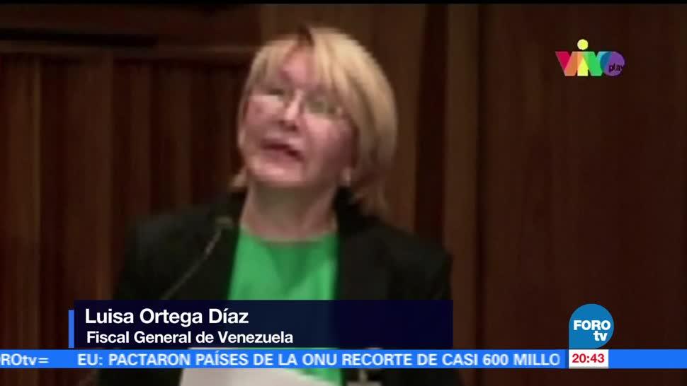 noticias, forotv, Congelan, cuentas bancarias, prohíben salida, fiscal general de Venezuela