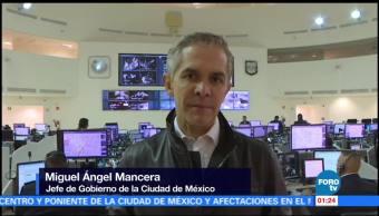 noticias, forotv, Tromba, CDMX, no deja víctimas, Mancera