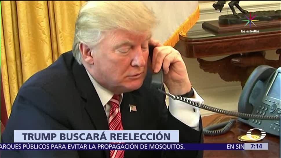 Donald Trump, reelección 2020, hotel de Washington, recaudar fondos