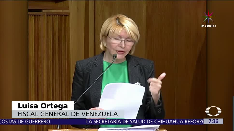 Fiscal, Luisa Ortega, comparecerá, Tribunal Supremo de Venezuela
