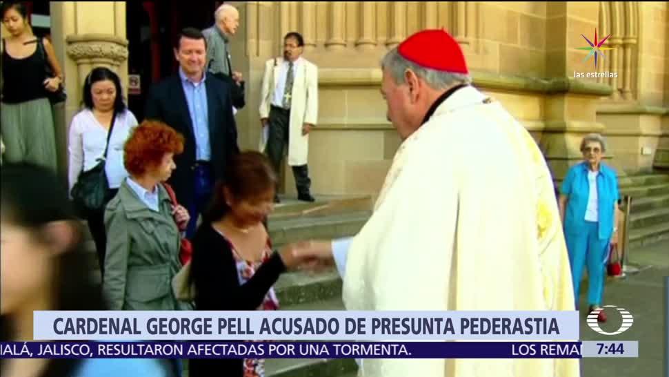 Justicia australiana, cardenal George Pell, abuso sexual