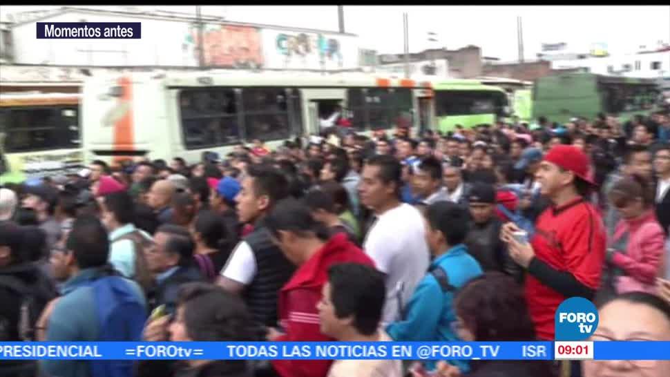 Metro, reanudan servicio, Barranca de Muerto a San Joaquín