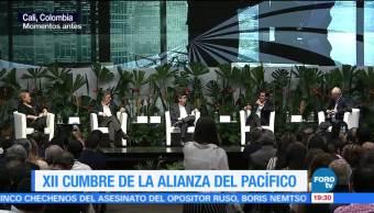 noticias, forotv, Clausura, encuentro empresarial, Alianza del Pacífico, Enrique Peña Nieto