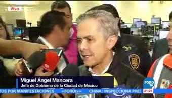 noticias, forotv, Mancera, encabeza, reunión de emergencia, lluvias en la CDMX