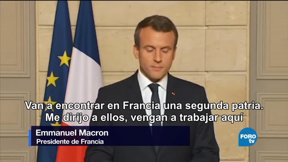 noticias, forotv, Macron, mundo verde, calentamiento global, Emmanuel Macron