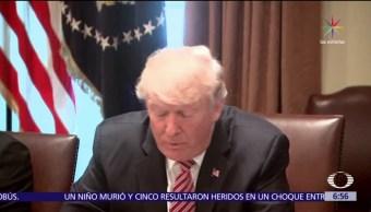 noticias, televisa, Casa Blanca, justifica insultos, Trump, mujer periodista