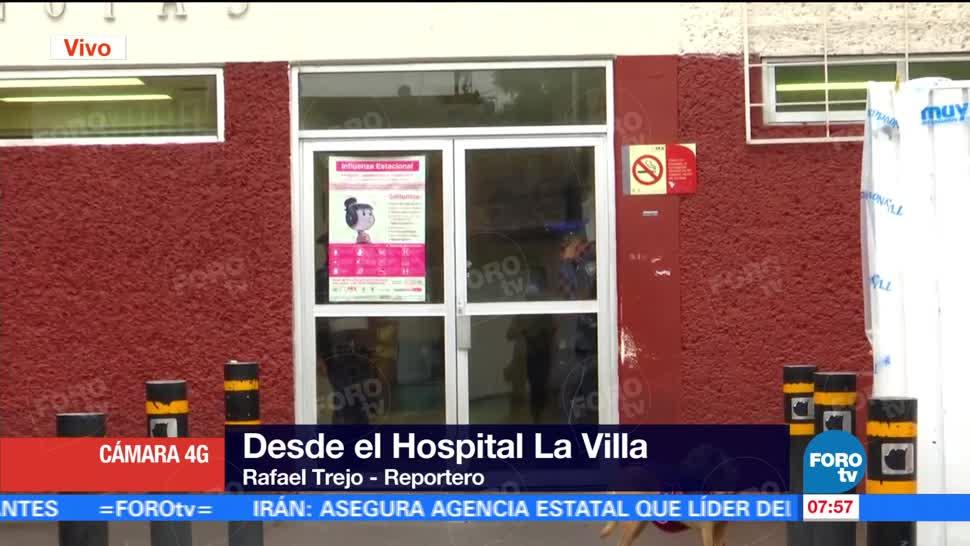 noticias, televisa, Desazolvan, interior, Hospital de la Villa, inundaciones