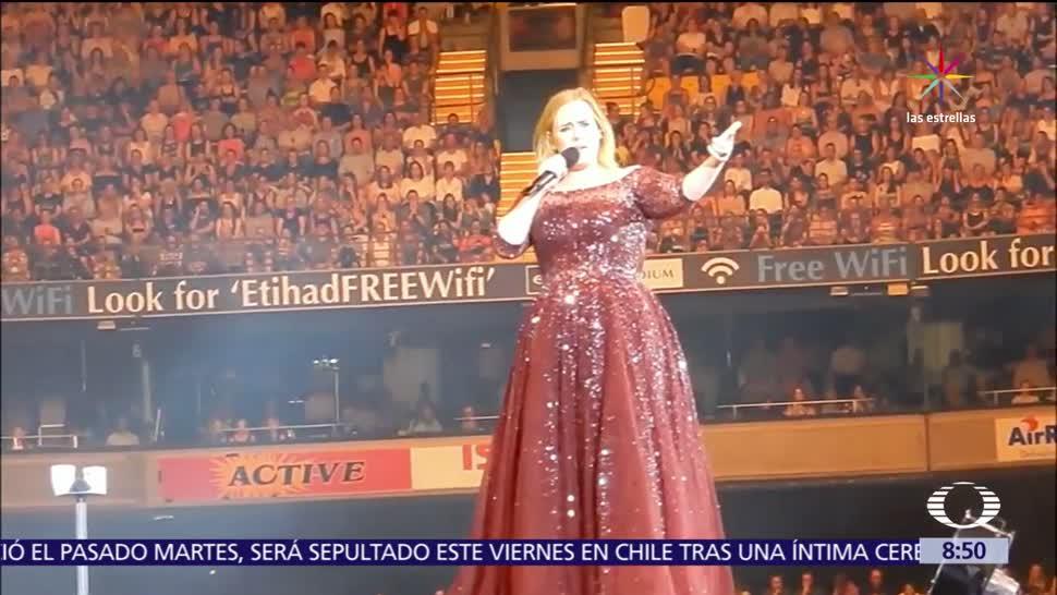 noticias, televisa, Adele publica, carta en Instagram, fin de sus conciertos, Adele