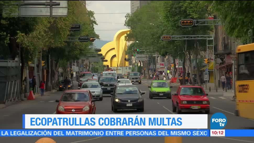 Trabajadores, Secretaría de Medio Ambiente, Ciudad de México, ecopatrullas, cobrar multas