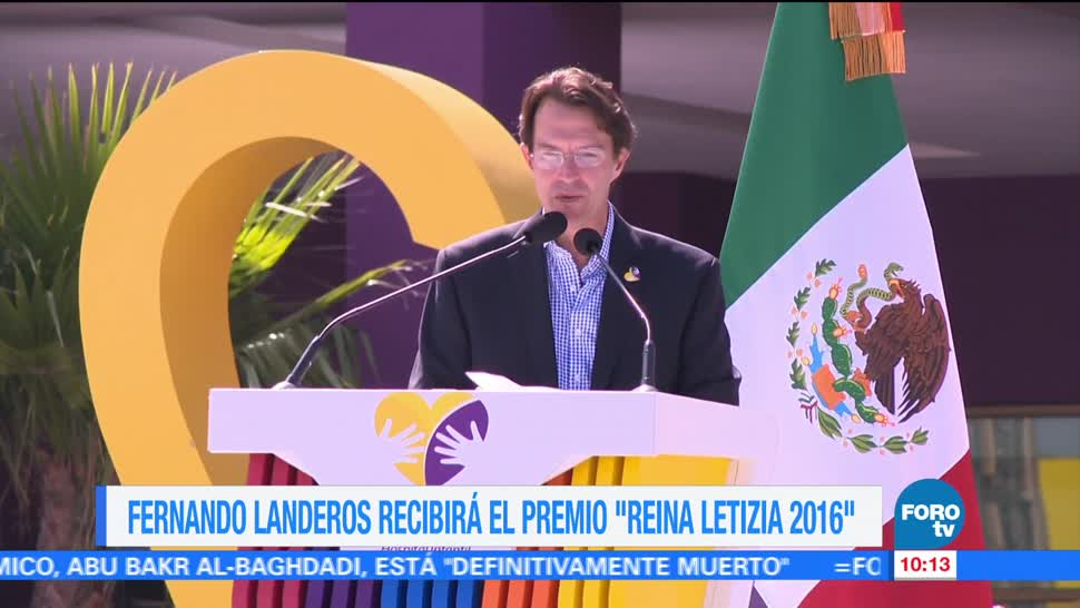Fernando Landeros Verdugo, presidente, Fundación Teletón, Premio 'Reina Letizia 2016', Prevención de la Discapacidad