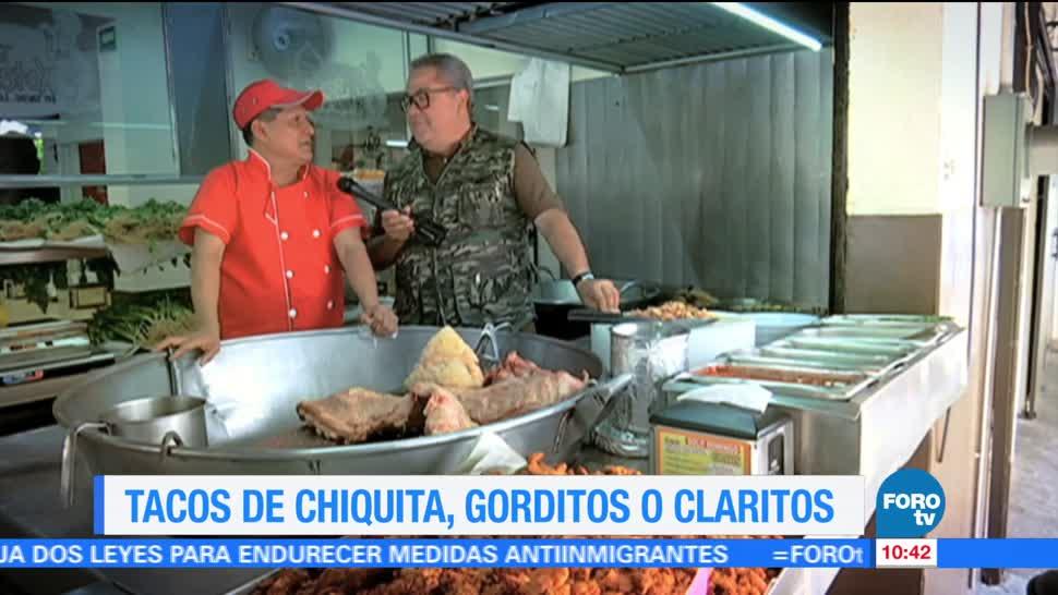 Enrique Muñoz, dónde comer, tacos de chiquita, gorditos, claritos