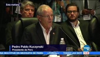 Alianza del Pacífico, presidente de Perú, Pedro Pablo Kuczynski, prosperidad