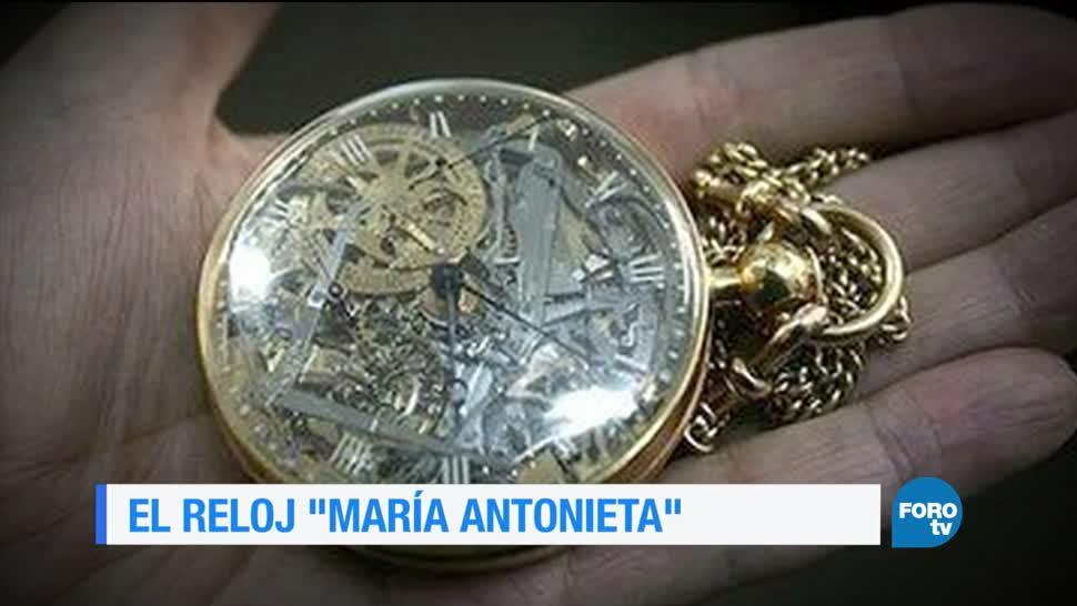 noticias, forotv, El reloj de María Antonieta, maria antoieta, reloj, reina María Antonieta