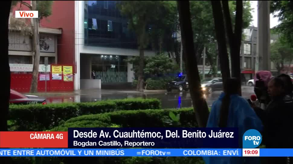 noticias, forotv, Llueve, centro, Ciudad México, lluvia