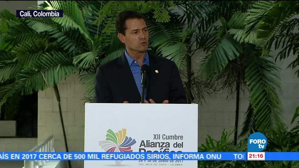 Enrique Peña Nieto EPN, Alianza del Pacífico, cuatro nuevos socios