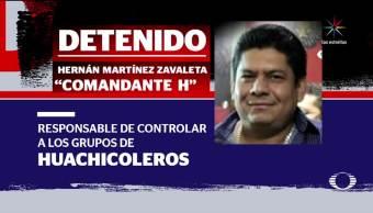 Villahermosa, Tabasco, Detienen, El Comandante H