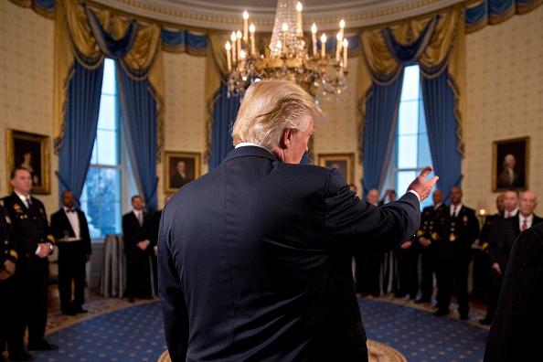Donald Trump, presidente de EU