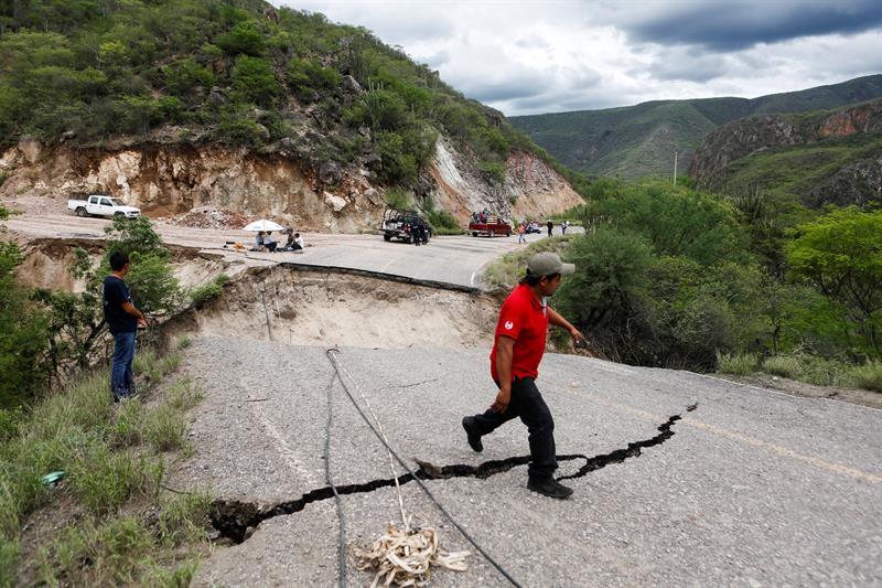 Daños en Oaxaca por el paso de Beatriz|, lluvias oaxaca