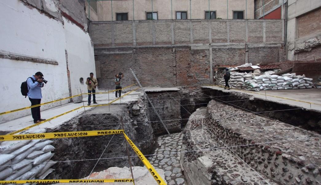 Ehécatl, Hallazgo arqueológico, Templo Mayor, CDMX