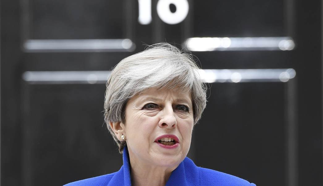 Theresa May, Downing Street, primera ministra británica, Reino Unido