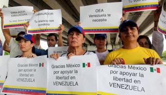 Manifestantes en sede de la oea, Cancun quintana roo, Ciudadanos venezolanos, Ayotzinapa, Noticias, Noticieros