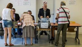 centros electorales, elecciones, legislativas, francia, jornada electoral